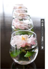 So good - Use stemless wine glasses to float candles down your table or around the site on cocktail tables or other accent pieces | CHECK OUT THESE OTHER SWEET PICTURES OF NEW WEDDING DECOR TRENDS 2016 AT WEDDINGPINS.NET | #weddingdecor2016 #weddingdecor #decor #2016 #trends #weddings #weddingvows #vows #tradition #nontraditional #events #forweddings #iloveweddings #romance #beauty #planners #fashion #weddingphotos #weddingpictures
