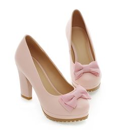 wholesale Pretty high heels bowknot sweet fashion for ladies Z-SK-S198