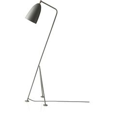 Love this lamp. Lots. // Grasshopper Floor Lamp Blue Gray by Greta Grossman