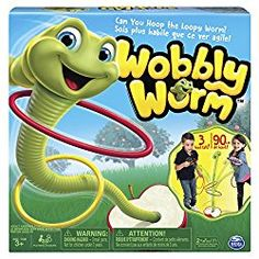 Spin Master Games Wobbly Worm Ring Toss Game for Kids Aged Players) Family Game Night, Family Games, Gymnastics Games, Haul, Outdoor Games For Kids, Ring Toss, Activity Board, Toss Game, Backyard Games