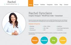 Wordpress Resume Theme Httpismhisms  Health & Beauty Websites  Pinterest .