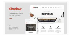 19 Flat Design WordPress Theme