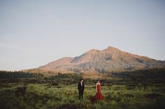 Engagement shoot ideas in nature | Inspiring post by Bridestory.com, everyone should read about Amorous Engagement Album in Vast Bali Meadows on http://www.bridestory.com/blog/amorous-engagement-album-in-vast-bali-meadows