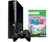 Xbox 360 4GB 1 Controle 1 Jogo com as melhores condições você encontra no site do Magazine Luiza. Confira!