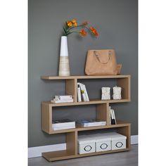 Estantería zig zag serie 6311 - TopKit #muebles #decoracion #interiorismo #estanterias #salon