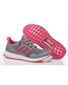 [2017 DEALS] Adidas Ultra Boost Womens Gray Pink Fashionable Style £57.90