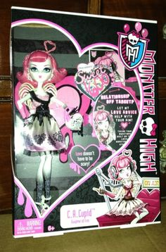 Monster High Sweet 1600 C.A. Cupid Doll