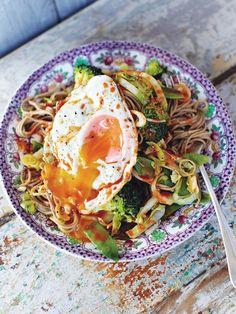Jamie Oliver, Vegetable Recipes, Vegetarian Recipes, Healthy Recipes, Veggie Meals, Healthy Meals, Lunch Recipes, Healthy Eating, Hangover Food