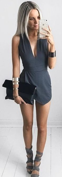 Perfectly Wrapped Romper Source