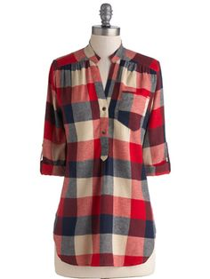01ab426531b 12 Plaid Shirts - Women s Plaid Shirts For Fall - Redbook Plaid Shirts