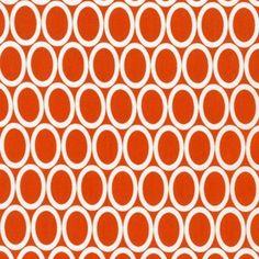 Ann Kelle - Remix - Ovals in Orange