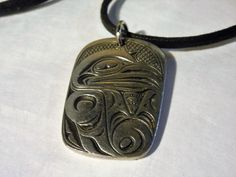 Raven Pewter Totum Necklace by Frederick Design - Designed and Made in Canada #FrederickDesign
