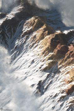 Snow mountain peak by FireKDragon.deviantart.com on @deviantART