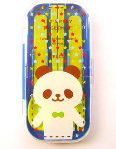 Cute Cutlery Set  Spoon Fork Chopsticks Bento Box Accessories  Cute Panda