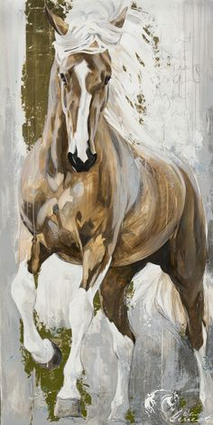 Most Admired Horse-Drawn Paint Drawings - Art Horse Oil Painting, Watercolor Horse, Knife Painting, Oil Painting On Canvas, Horse Drawings, Art Drawings, Drawing Art, Arte Equina, Horse Artwork