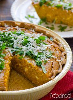 Healthy Savoury Greek Pumpkin Pie Recipe