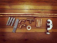 Kupfer, oh Kupfer – Meine neue Gardinenstange