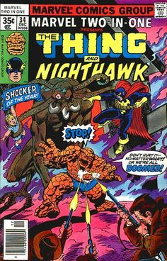 Cover for Marvel Two-In-One (Marvel, 1974 series) #34
