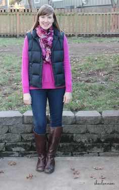 Shea Lennon: How to Style a Puffer Vest (and not look...puffy)