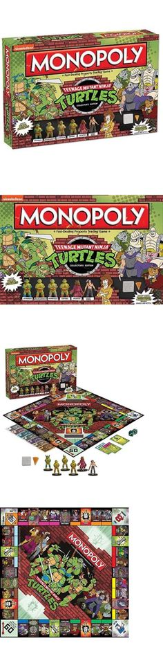 Contemporary Manufacture 180349: Monopoly: Teenage Mutant Ninja Turtles Collector S Edition Game -> BUY IT NOW ONLY: $49.99 on eBay!