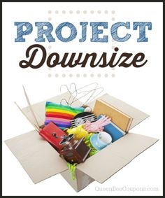Project Downsize - Get rid of clutter, simplify your life!