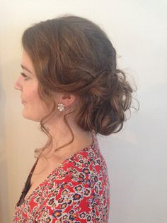 Another gorgeous messy up style with lots if texture. Perfect for any occasion. Hair and makeup by me