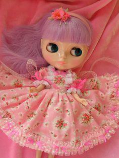 WEEKEND SALEBlythe Doll DressNew Handmade Floral by KittyKatDance