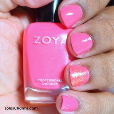 Lola's Charms: Review: Zoya's Tickled Collection