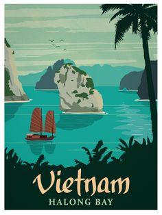 Vintage vietnam poster smaller