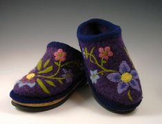 Love these, so many say this is the best pattern and worth having!! Felted Clogs (AC-33) pattern by Bev Galeskas