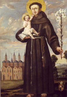 santos e santas da igreja católica Santo Antônio de Pádua - Pesquisa Google