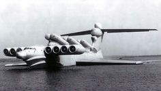 The Lun Ekranoplan also known as the Caspian Sea Monster. Designed in the 60s but supposedly never went into service, it would've inserted troops and disrupted shipping with 6 anti-ship missiles.