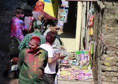 Sales on progress     #Holi #india #festival #photography #kids #children #color #photo