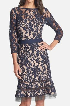 Pretty Lace Overlay Dress http://rstyle.me/n/tybbsbh9c7