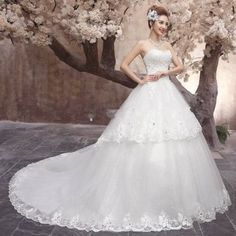 160.06 USD New A-line Sweetheart Beading Handmade Specialized Wedding Dresses