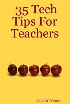 35 Tech Tips For Teachers will help any teacher (no matter what their tech-saviness is) to use some creative ways in bringing the use of technology into their classrooms. Templates are available to people who purchase the book at no additional fee. Each tech tip is aligned to an accepted technology standard.