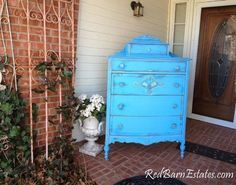 CUSTOM DRESSER Order Your Own Highboy - Layaway Avail - The Shabby Chic Furniture Painted Distressed Antique Furniture Shabby Dresser #antiquefurniture