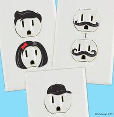 outlet stickers - don't look so surprised!