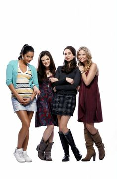 Lucy Hale Ashley Benson Shay Mitchell Troian Bellisario: Pretty Little Liars Promos Season 4 -48
