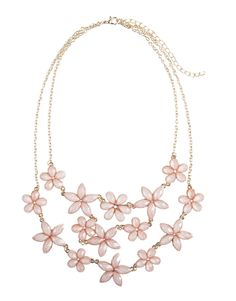 Floating Flowers Necklace