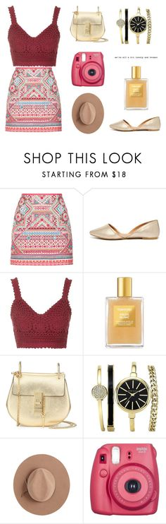 """Untitled #31"" by hey-natasha ❤ liked on Polyvore featuring Accessorize, Qupid, Topshop, Tom Ford, Chloé, Anne Klein, Calypso Private Label and Fujifilm"