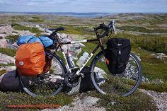 Bicycle touring Labrador - Jamis Aurora Touring Bike