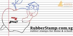 Rubber stamps is great for home, office and school use! Get one for yourself now! http://www.rubberstamp.com.sg/