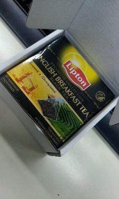 Lipton English breakfast tea English Breakfast Tea, Lipton, Free Gifts, Promotional Giveaways