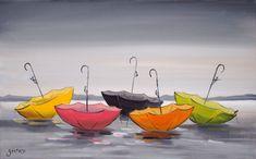 Plateforme de ventes aux enchères en ligne Catawiki : Christophe Gastaldi - Les parapluies