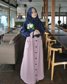 Model Gamis Source by chandrarusmaidi dresses muslim Dress Muslim Modern, Muslim Dress, Casual Hijab Outfit, Hijab Chic, Fashion Models, Girl Fashion, Fashion Outfits, Fashion Styles, Muslim Women Fashion