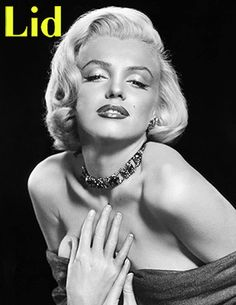 Marilyn Monroe on the cover of Lid #9.