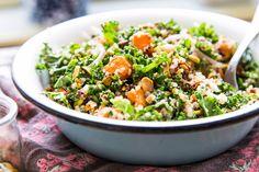 A Filling Winter Squash, Kale and Quinoa Salad Recipe
