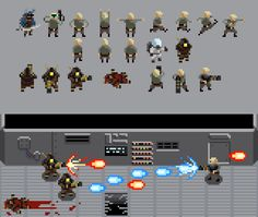 Shmup sprites and mockup by Skazdal.deviantart.com on @DeviantArt