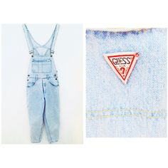 RARE Guess Overalls / M Overalls / Size 4 by PurpleIndigoVintage